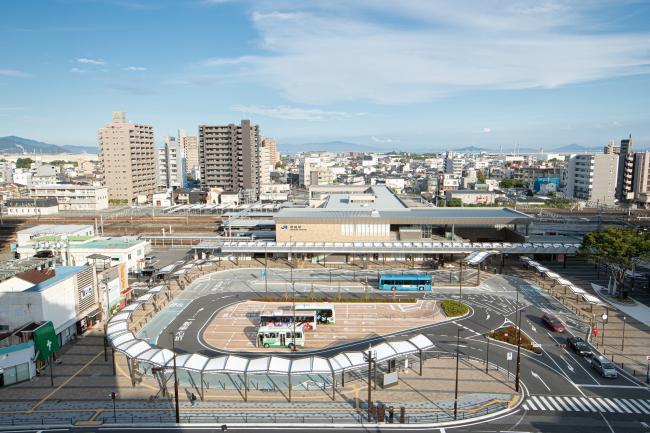 岩国駅東西駅前広場整備工事の進捗情報 ※工事は完了しました - 岩国市